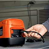 Black + Decker Akku-Kompressor, 11 bar / 160 psi, digitale Druckeinstellung, ASI300 - 4