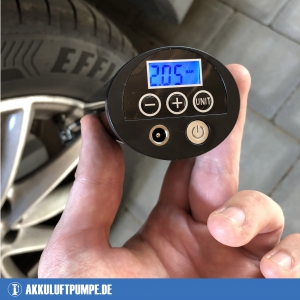 Oasser P1 Testbericht Akku Luftpumpe